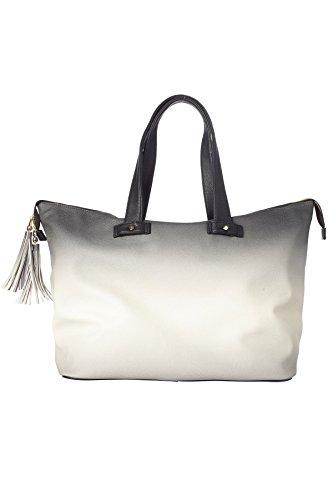 deux-lux-exclusive-vegan-ombre-weekender-tote-beach-bag-black-one