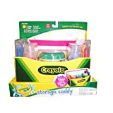 Crayola - Bathtub Storage Caddy and Crayons