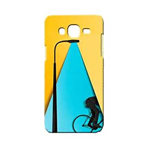 BLUEDIO Designer 3D Printed Back case cover for Samsung Galaxy E7 - G1572