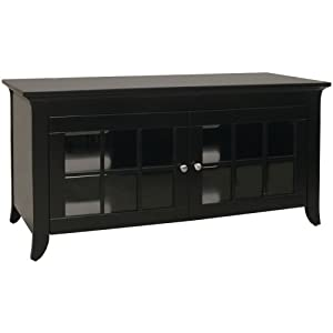 Techcraft CRE48B Credenza for Most 50-Inch and Smaller Flat Panel Televisions