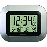 Lacrosse Technology WT-8005U-S Digital Atomic Wall Clock