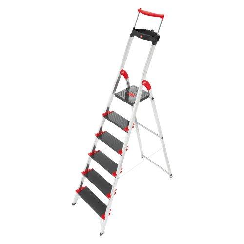 Hailo XXR 225 ChampionsLine 225 kg Capacity Aluminium Deluxe Comfort Steps (6 Steps)