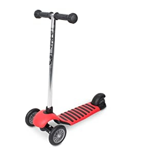Mini Street Cruz II Tri-Scooter (Black/Red)