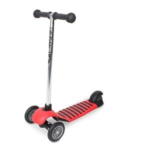 Mini Street Cruz II Tri-Scooter (Black/Red)