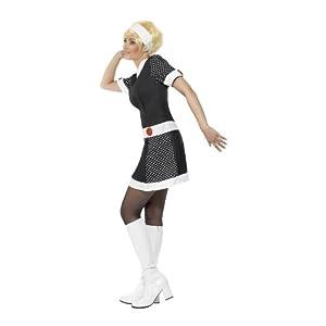 Schickes 60er Jahre-Kostüm für Damen by SMIFFYS