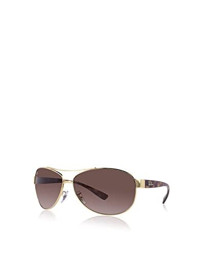 Ray-Ban Oversized Aviator Sunglasses, Gold-Tortoise/Brown