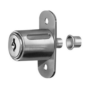 Sliding door lock nickel key c415a cabinet and for 007 door locks