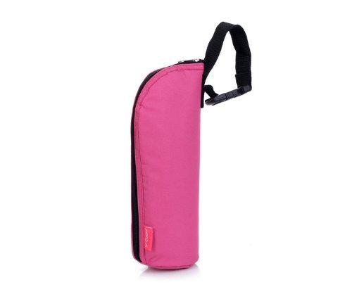 V-Coool Single Bottle Insulator / Cooler - Pink