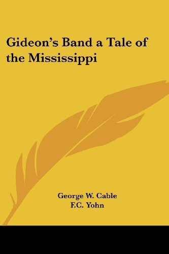 Gideon'S Band A Tale Of The Mississippi front-233512