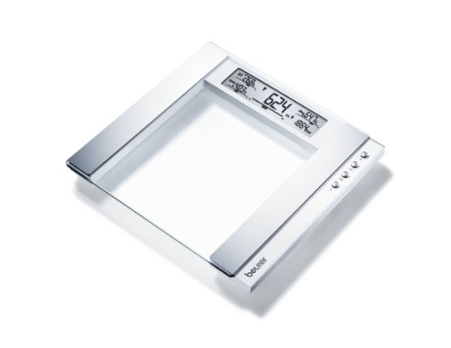 Beurer BG55 Glass Diagnostic Bathroom Scale White