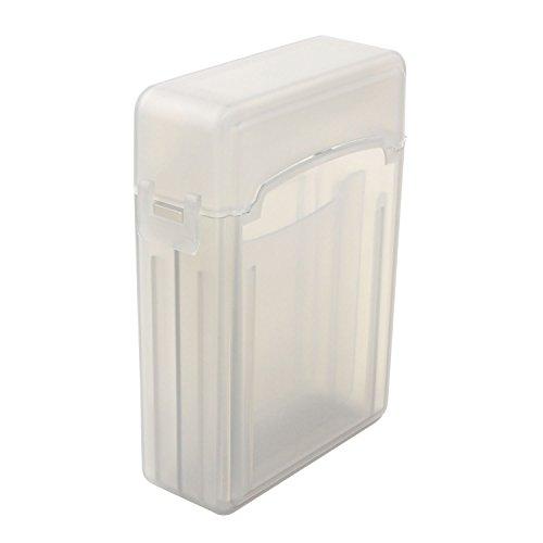 Niceeshop(Tm) 2.5 Inch Ide Sata Hdd Hard Drive Storage Box Protective Case -Coffee