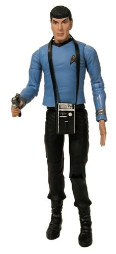 Buy Low Price Art Asylum Star Trek Classic 6″ COMMANDER SPOCK Action Figure – ART ASYLUM (B00009J58E)