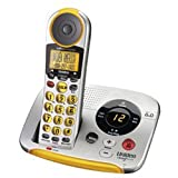 Uniden DECT 6.0 Expandable Big Button Cordless Phone System with Talking Caller ID and Answering System