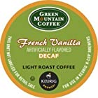 Green Mountain Coffee French Vanilla Decaf, Light Roast (Box of 24)