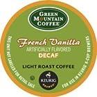 Green Mountain Coffee French Vanilla Decaf, Light Roast (Box of 48)