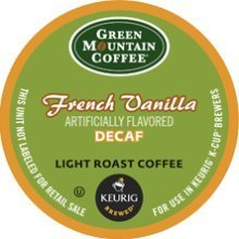 Green Mountain Coffee French Vanilla Decaf, K-Cup Portion Pack For Keurig K-Cup Brewers (Pack Of 48) front-577674