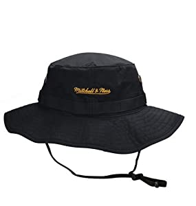 6fe431c32 Pittsburgh Steelers Mitchell   Ness Boonie Bucket Hat at SteelerMania