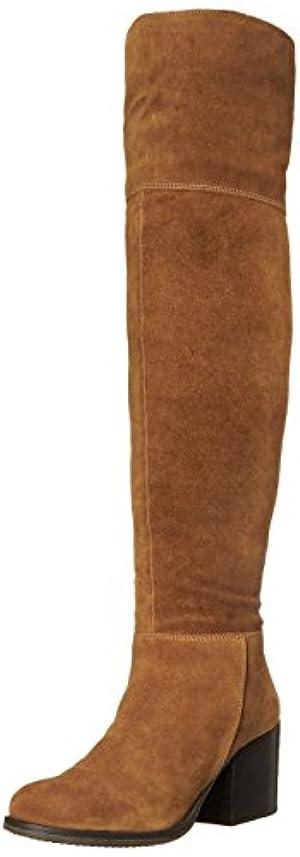 Steve Madden Women's Orabela Winter Boot, Chestnut Suede, 7 M US