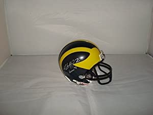 Charles Woodson Signed Michigan Wolverines Mini Helmet by Riddell