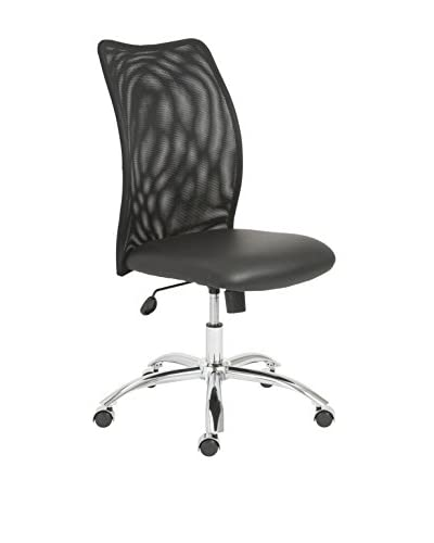 Euro Style Sabati Mesh Office Chair No Arms, Black