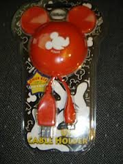 USB Cable Holder Mickey Mouse