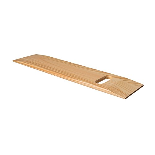 Mabis Wooden Transfer Slide Board With Cut Out Handle (Wooden Transfer Board compare prices)