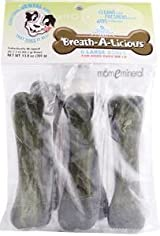 Breath-A-Licious, 6 Large Bones, 2.3 oz (65.2 g) Each by Dancing Paws