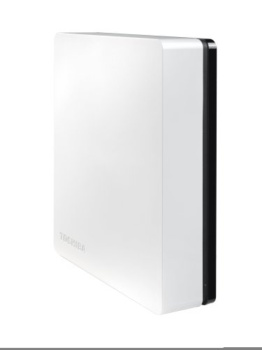 Toshiba HDWC130EW3J1 Stor.E Canvio 3TB USB 3.0 3.5 Inch Desktop Hard Drive - Black/White