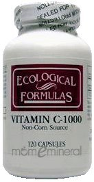 C-1000 1000 mg 120 Capsules by Ecological Formulas