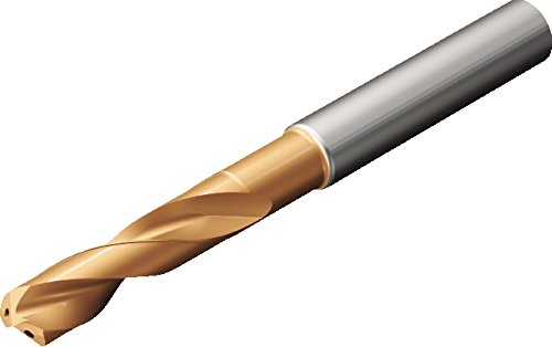 Sandvik Coromant 860.1-0953-029A1-MM 2214 CoroDrill 860 Solid Carbide Drill, Material Optimized, 0.375