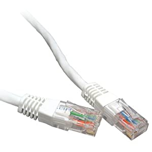 Cable  Gigabit Ethernet on Cat6 10m Gigabit Ethernet Cable   White  Amazon Co Uk  Electronics