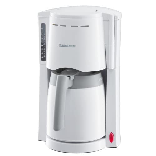 Thermo Filter Coffee Machine for 8 cups 800W, White