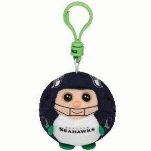 Ty Beanie Ballz Seattle Seahawks - Clip