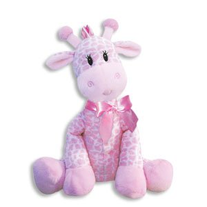 9 Inch Giraffe Rattle for Girl/Baby Rattle/Plush Rattle/Baby Shower Gift/Newborn Gift