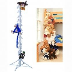 Stuffed Animal Organizer - Vertical Toy Storage