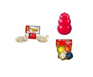Pyara Paws Big Chew Pet Toys Kit