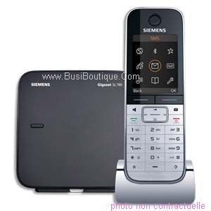 Siemens Gigaset Designer Digital Cordless Phone with Color Display, Bluetooth Connectivity and Answering System (SL785)