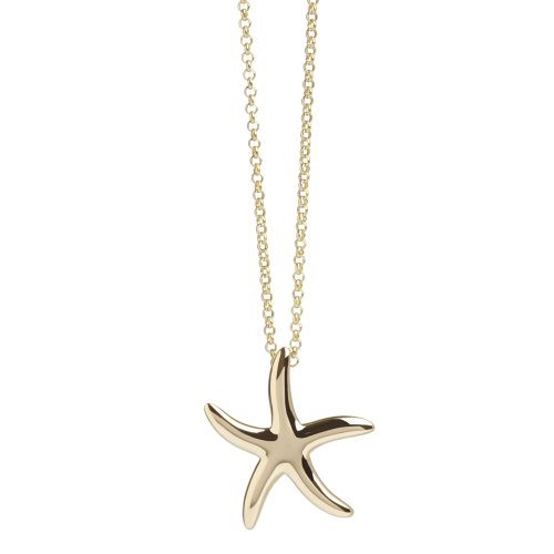 Starfish Pendant in Gold Vermeil