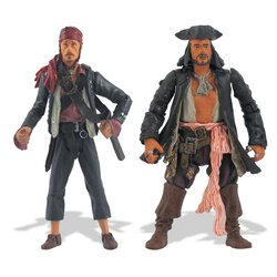 Buy Low Price Zizzle Pirates of the Caribbean: 3.75″ Pintel & Ragetti Figure 2-Pack (B000NZOXVE)