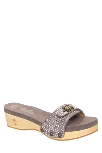 Flogg Molly Low Heel Platform Slide Sandal