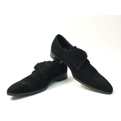 FALCHI NEW YORK(ファルチ ニューヨーク) Falchi New Yorkファルチ ニューヨークFN-008 SWBK紳士靴 ビジネス シューズブラック ビジネスシューズ(FN-008SWBK) スウェードブラック 24.5