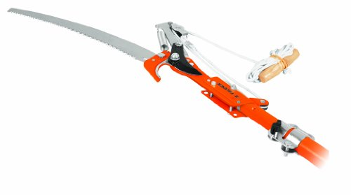 Truper 33180 Tru Tough 12-Feet Tree Pruner With Fiberglass Telescoping Handle