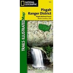 National Geographic's Pisgah Ranger District Map