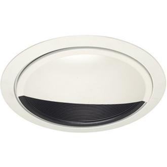 Recessed Lights Wall Washer : Juno Lighting 261B-WH 6-Inch Wall Wash Scoop, Black Baffle with White Trim - Recessed Light ...