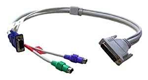 20ft KVM-computer Cable for PS2 Keyboard/monitor/mouse