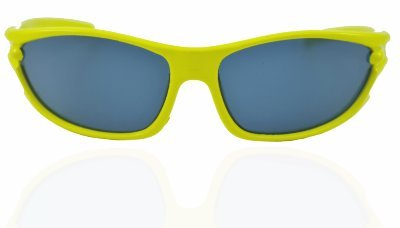 "ANGEL GLITTER ""Yellow Sunshine Of Summer"" Matrix-Style Kids Wayfarer Sunglasses"