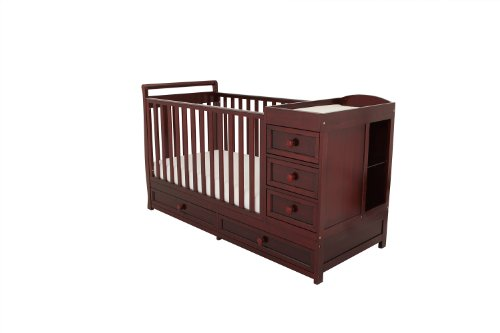 Athena Daphne Convertible Crib And Changer Cherry Baby Shop