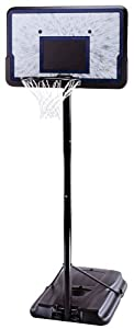 Lifetime 1221 Pro Court Height-Adjustable Portable Basketball System with 44-Inch Backboard by Lifetime