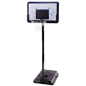 See Lifetime 1221 Pro Court Height-Adjustable Portable Basketball System with 44-Inch Backboard Full size and View details