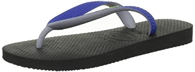 Havaianas Kids Top Mix Flip Flops - Black/Blue
